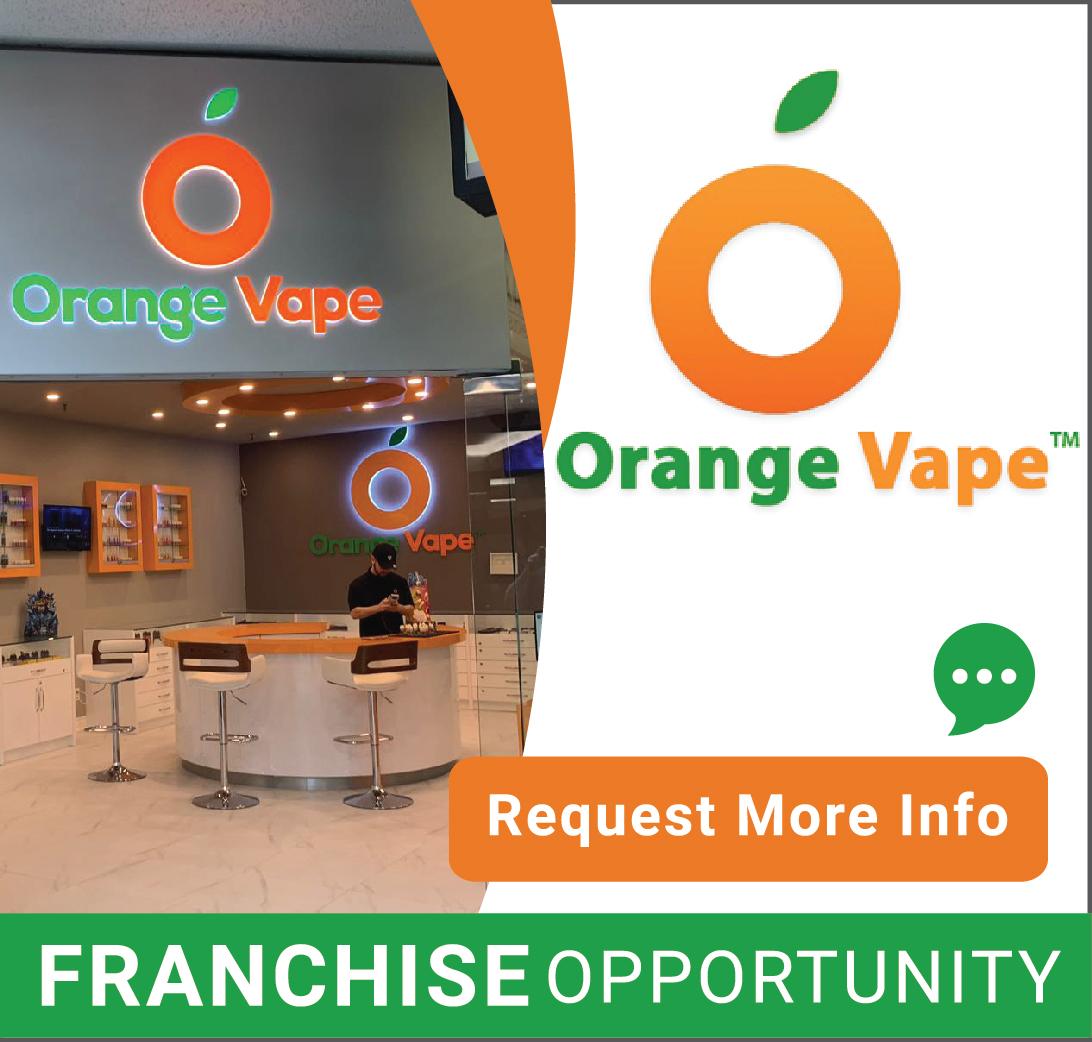 Orange Vape Franchise Opportunities