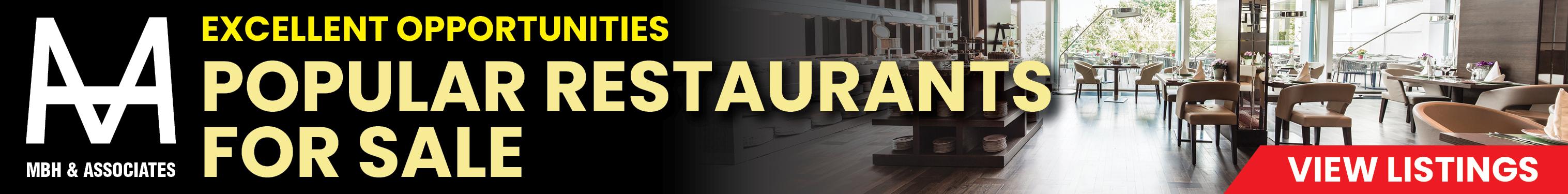 Popular Restaurants for Sale
