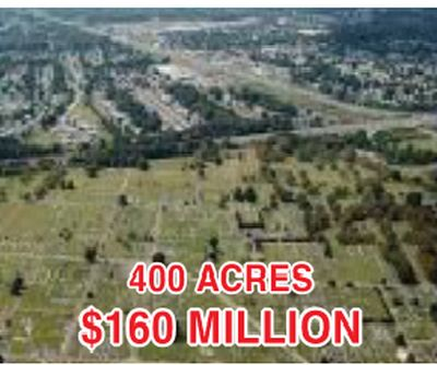 RAW LAND WITH OFFICIAL PLAN INDUSTRIAL/COMMERCIAL FOR SALE