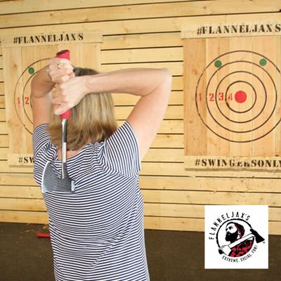 Flannel Jax's Axe Throwing Franchise Opportunity