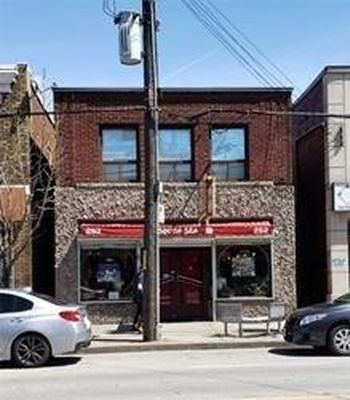BUSINESS WITH APARTMENT FOR SALE IN HAMILTON--