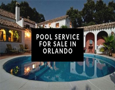Pool Service Route Business For Sale in Orlando