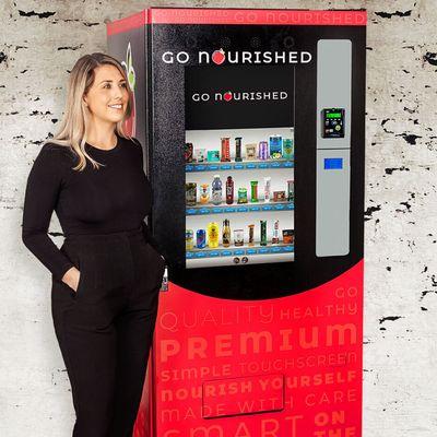 Go Nourished Innovative & Heathly Vending Machine Opportunity