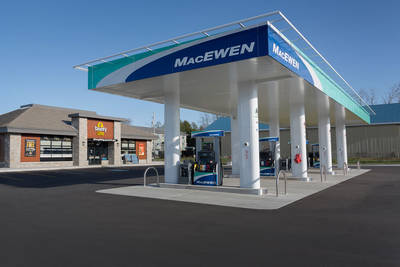 MACEWEN BRAND GAS STATION IN OTTAWA