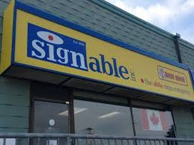 SIGN COMPANY FOR SALE IN KITCHENER