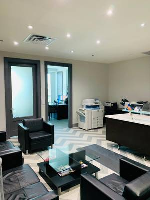 1000 SqFt Furnished Office Available For Lease - Highway 7 & 27