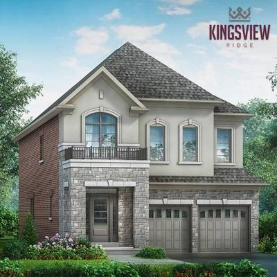 Kingsview Ridge Single Family Homes Starting From low $700's in Oshawa