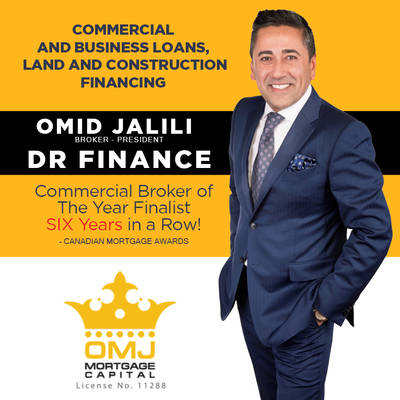 Commercial & Business Loans, Land & Construction Financing Services Available