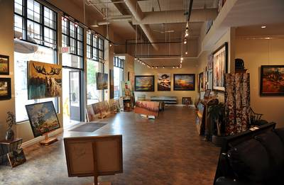Profitable Art Gallery in Blue Mountain Village