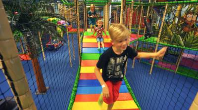Indoor Playground with Restaurant