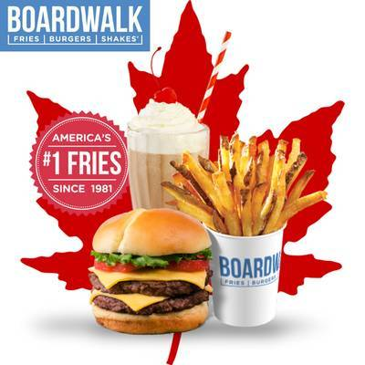 NEW Barrie Boardwalk Fries Burgers and Shakes