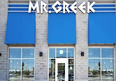 Mr. Greek Fast Casual Restaurant Opportunity in Ajax, Ontario.
