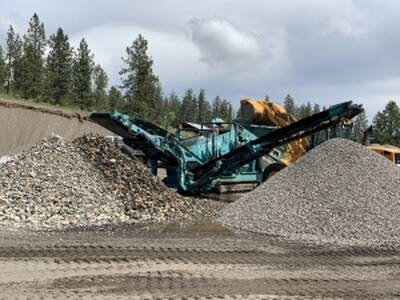 Profitable Sand and Gravel Pit Land for Sale in Spallumcheen, BC