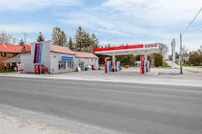Gas Station with LCBO/Beer Store and Apartments