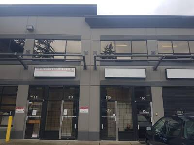 Great Location Office Space with Warehouse for Lease in Surrey, BC