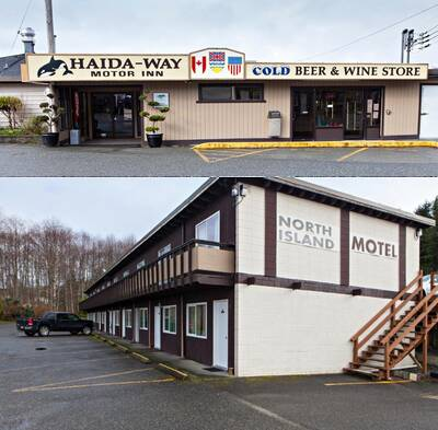 Great Location Investment Motel for Sale in Port McNeill, BC