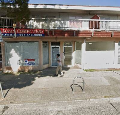 Great Exposure Commercial Retail Unit for Lease in Vancouver, BC