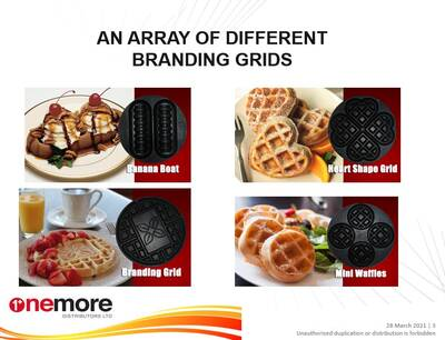 Waffle and Pancake Distribution Business for Sale, One More Distributors LTD.
