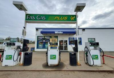 Gas Station with Convenience Store for Sale in Valleyview, AB