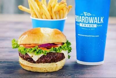 Boardwalk Burgers Fries Shakes Restaurant Regina