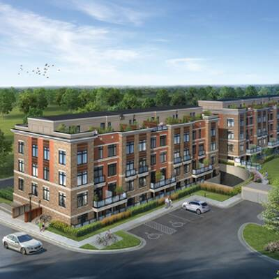 High Point Urban Towns -Stackable Townhouses for Sale in Richmond Hill