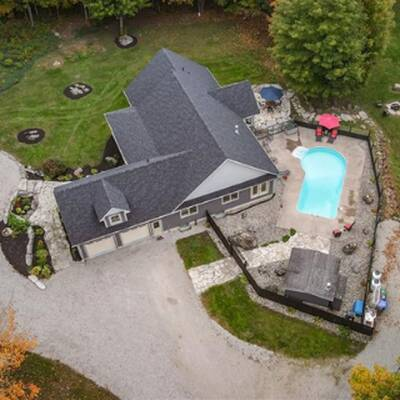 Private Estate Home with 95 Acre Land for Sale in Severn