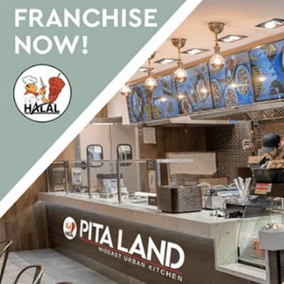 Pita Land Restaurant Franchise Opportunity