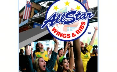 All Star Wings & Ribs Sports-Themed Restaurant Franchise For Sale